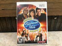 Nintendo Wii Karaoke Revolution American Idol Encore 2 Konami