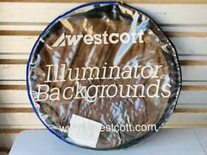 Westcott Portable Illuminator Backgrounds 6x7 Grey Marble Copper NICE