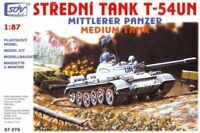 SDV Plastic Model Kit 1/87 H0 Medium Tank T-54 UN Military