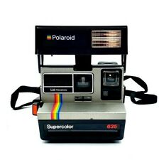 Polaroid 635 LM SuperColor Camera, Using 600 Film Instant camera Boxed - Working