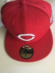 Cincinnati Reds New Era 1990 World Series Wool 59FIFTY Fitted Hat - Red