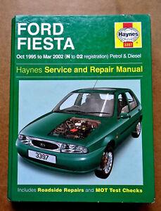 Ford Haynes Manual 1984-96 1.6 1.8 Diesel Engine Workshop ...