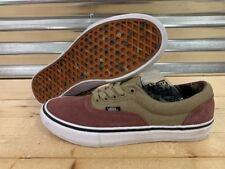 e8e589bf63ef7f Vans UA Authentic Skate Shoes Brown Tan Camo Lined MEns SZ 9 NEW!