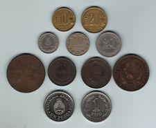 Argentina - Buenos Aires : 1823 Decimo, 1853 2 Rl.  Also Argentina x 9 Minors..