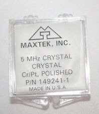 Sensor Crystal, 5 MHz, 90°C, Cr/Pt, polished