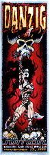 Danzig Concert Poster 1999 Jeff Wood & Johnny Thief