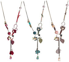 MARNI H&M Red,Green or Brown Flower Pendant Long Necklace pick one