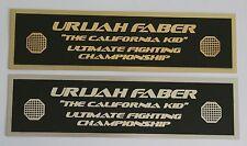 Urijah Faber UFC nameplate for signed mma gloves photo or case