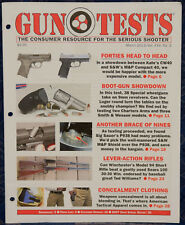 Magazine GUN TESTS March 2013 !! SMITH & WESSON Model 940 9mm Luger REVOLVER !!