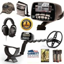 Garrett At Pro Metal Detector With Land Headphones Camo Pouch And Camo Hat