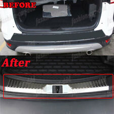 Inner Rear Bumper Protector Sill Plate Steel Fit  For Ford Escape Kuga 2013-2016