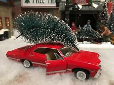 Red 1967 Chevy Impala Christmas Tree Decoration Truck