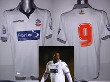 Bolton Wanderers U21 Macron Matchworn Player Shirt Jersey Football Soccer XL Top