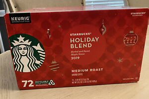 Starbucks 2019 Limited Edition | Holiday Blend Coffee K-Cups (72 Count)