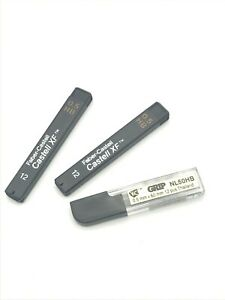 Lot of 2 Faber Castell mechanical pencil lead refills + BONUS 10 Grip Refills