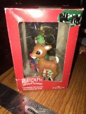 Vintage Kurt Adler Rudolph The Red Nosed Reindeer Christmas Rudolph Ornament