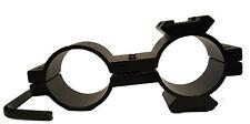 "25mm 24.7mm 1"" Double Ring 20mm 21 Rail Mount Adaptor, Rifle Scope Torch Bracket"