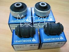Set of 4 Front Wishbone Bushes - Lemforder OEM for VW Golf Mk4, Mk3, Audi TT, S3