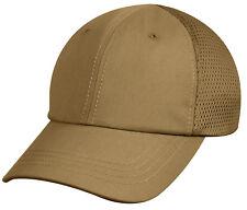 Tactical Coyote Brown Hat Baseball Cap Ballcap Mesh Back Rothco 8532