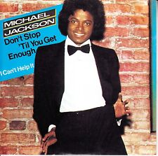 MICHAEL JACKSON  Don't Stop 'Til You Get Enough PICTURE SLEEVE RED VINYL 45 NEW