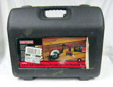 Craftsman 14.4 Volt Drill/Driver Circular Saw Hand Vac Tool Kit with Hard Case