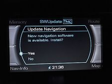 Audi 2018/19 Latest Sat Nav Map Update MMI 2G High UK & Western Europe