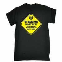 WARNING Grumpy Old Git T-SHIRT tee man club grandad dad funny birthday gift 123t