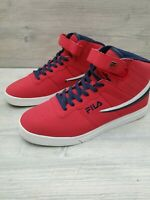 Fila Mens Vulc 13 Mid Size 11.5 Red/Navy/White