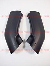 Ram Air Tube Cover Fairing Parts For Kawasaki ZX6R 00-02 ZZR600 05-08 Black #m8