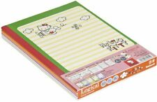 B5 Logical note A ruled line 5 books Hello Kitty