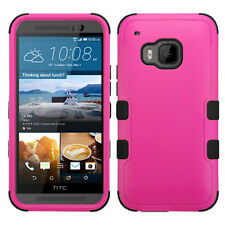 For HTC One M9 IMPACT TUFF HYBRID Case Skin Phone Covers Accessory