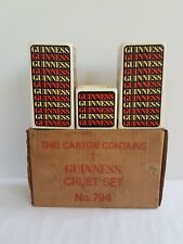 Guinness Cruet Set No.794 In Box
