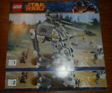LEGO 75043 STAR WARS AT AP INSTRUCTIONS ONLY NEW From Set free/shipping