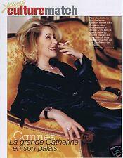 Coupure de presse Clipping 2008 Catherine Deneuve  (3 pages)