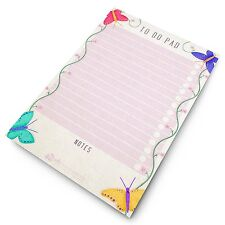 Monster Things to Do Today A5 To Do Pad Butterfly Design Desk Planner Organiser