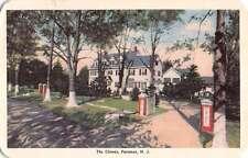 Paramus New Jersey Chimes Street View Antique Postcard K53311