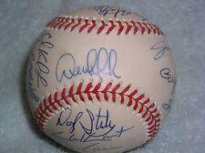 1999 New York Yankees World Series Champions Team Signed Baseball