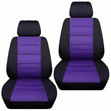 Fits 2000-2011 Suzuki Jimny  front set car seat covers  black and purple