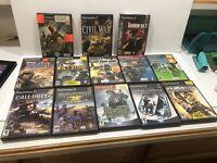 PS2 Playstation 13 Shooter War Games Call Of Duty Socom Medal Of Honor
