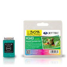 JET TEC H343 HIGH QUALITY REMANUFACTURED HP C8766E (HP343) COLOUR INK CARTRIDGE