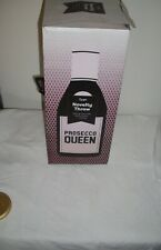 Typo Prosecco Queen Black/Pink Novelty Knit Throw - New