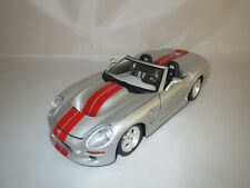 "Bburago  Shelby Series 1  ""1999""  (silber/rot)  1:18  ohne Verpackung !"