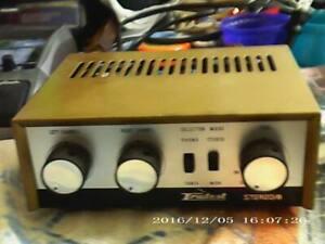 Vintage Lafayette Truetest Stereo 8 all Tube Stereo Amp  Working A+ 2x8 watt