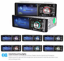 "Car 4.1""12V Bluetooth Stereo Radio HD MP5 MP3 USB AUX Player Camera FM Audio Kit"
