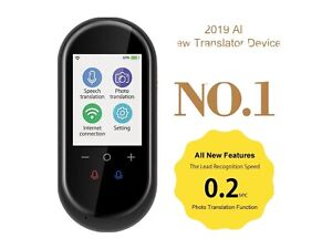 """Voice Translator 2.4"""" Touchscreen 106 Multi Languages WIFI Version for Learning"""