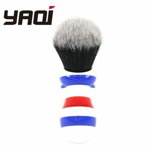 Yaqi 24MM Long Handle Synthetic Shaving Brush Tuxedo Knot High Quality Bristles