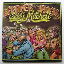 2lp Eddy Mitchell-L 'EPOPEE tu rock-vg + + souvenir BE BOP A LULA DALIDA