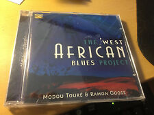 """Modou Toure & Ramon Goose """"The West African Blues Project"""" cd SEALED"""