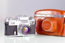 CLASSIC RANGEFINDER RUSIA KIEV 4A + JUPITER-8M 2/53 CLA TESTED EXCELENT+ TYPE4