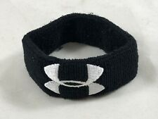 Under Armour Black W/ White Logo Wrist / Arm Band Men's Women's